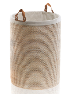 DECOR WALTHER BASKET SPA kosz rattan jasny