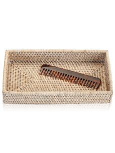 DECOR WALTHER BASKET TAB 2 tacka rattan jasny