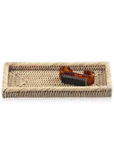 DECOR WALTHER BASKET KS tacka rattan jasny