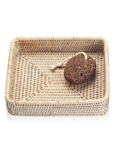 DECOR WALTHER BASKET TAB 1 tacka rattan jasny