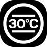 pranie delikatne w 30°C