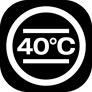 pranie delikatne w 40°C