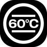 pranie delikatne w 60°C
